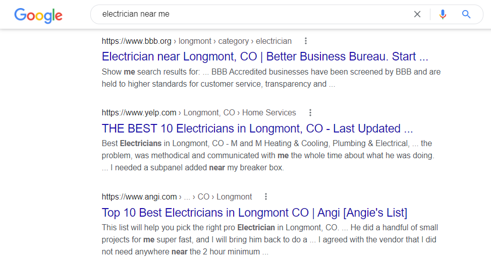 Local SEO is Important Because Directories Dominate Local Search