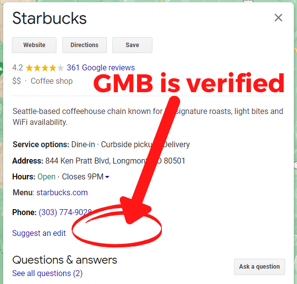 How to Tell if Your GMB Is Verified